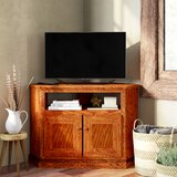Lapierre Solid Wood Corner TV Stand for TVs up to 50 by Loon Peak®