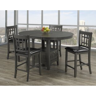 Gerold 5 Piece Pub Table S..