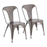 Marie Metal Side Chair (Set of 2) by Trent Austin Design®
