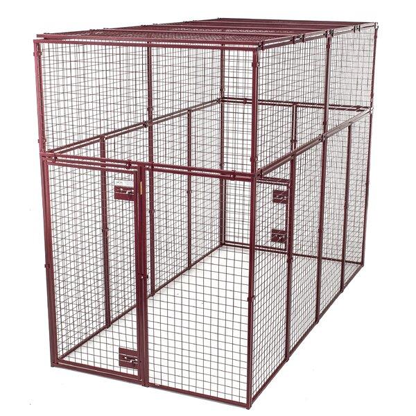 Animal House Heavy Duty Flat Covered Animal Cage | Wayfair
