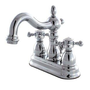 Kingston Brass Heritage Centerset Bathroom F..
