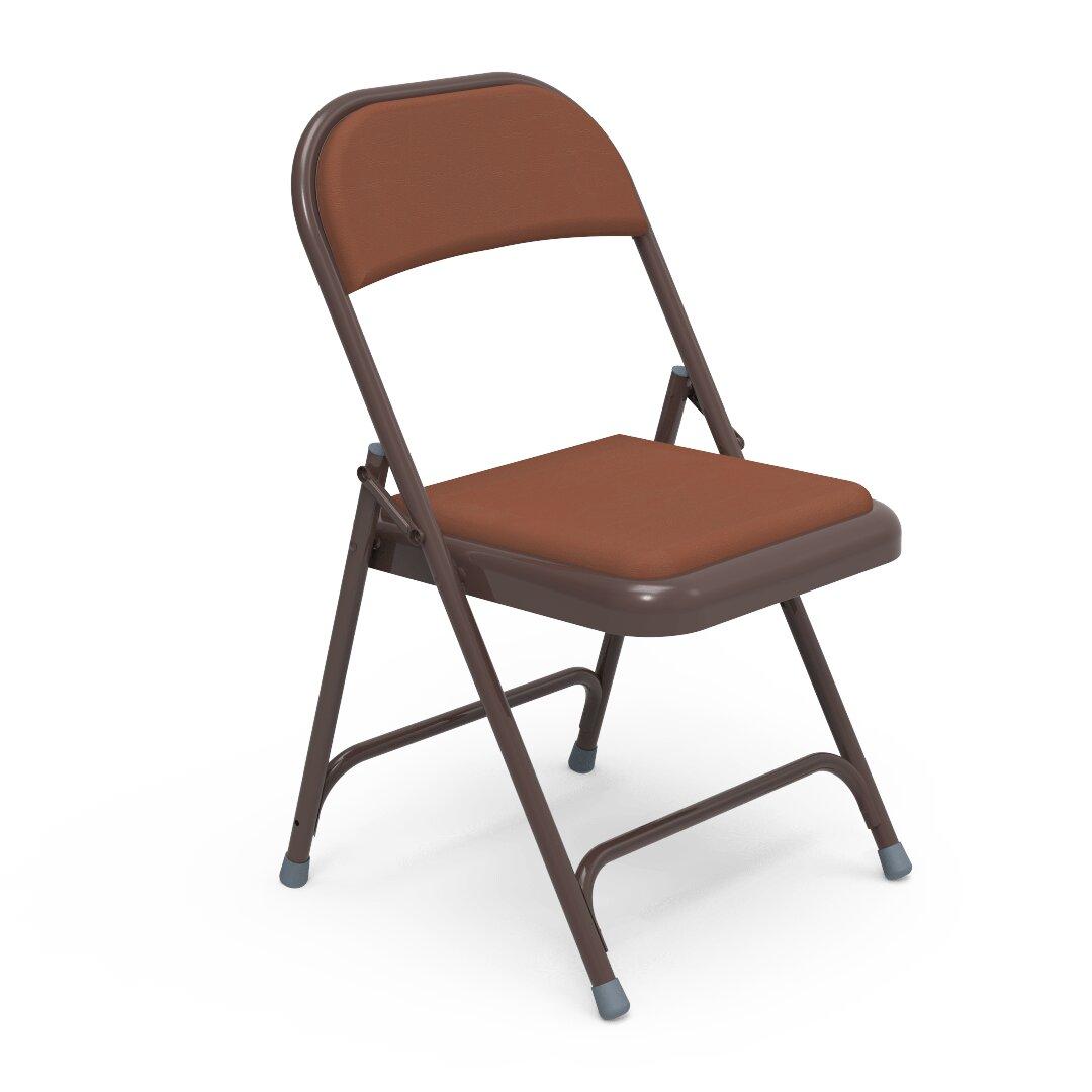 Virco 168 Series Vinyl Padded Folding Chair | Wayfair