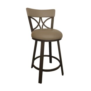 Bexhill 30 Swivel Bar Stool by Winston Porter