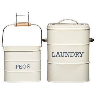 Living Nostalgia 2 Piece Laundry Set By KitchenCraft