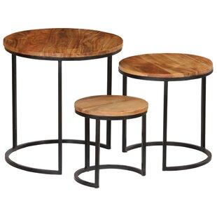 West Alton 3 Piece Coffee Table Set By Williston Forge