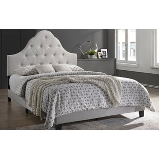 Richelieu Upholstered Panel bed by House of Hampton
