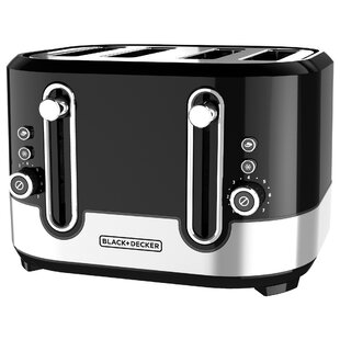 4-Slice Extra-Wide Slots Toaster