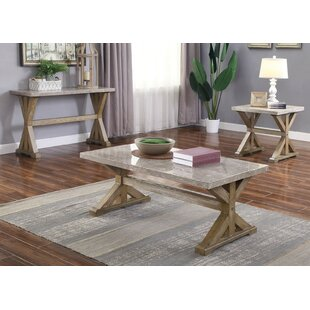 Euan 3 Piece Coffee Table Set by One Allium Way