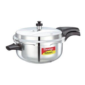 Deluxe 5.28-Quart Stainless Steel Deep Pressure Pan