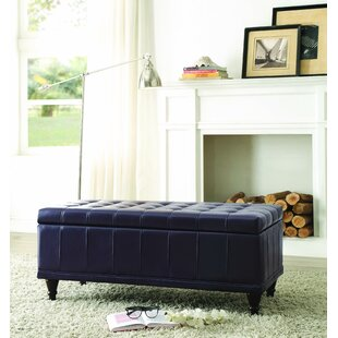 Alcott Hill Cafferata Upholstered Storage Bench