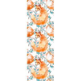 Mason Removable Watercolor Fox Nursery Wallpaper 10 L X 25 W And Stick Roll