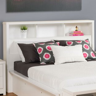 Find Tidworth Bookcase Headboard by Ebern Designs