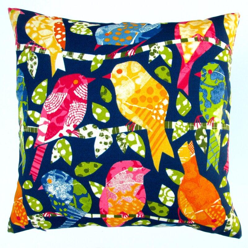 Pillows Kids Colorful Birds