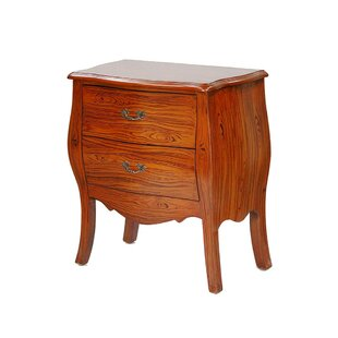 Redman 2 Drawer Accent Chest by Alcott Hill