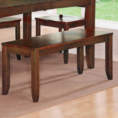 Wooden Importers Dudley Two Seat Bench & Reviews | Wayfair