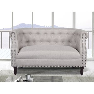 Chesterfield Loveseat by Container