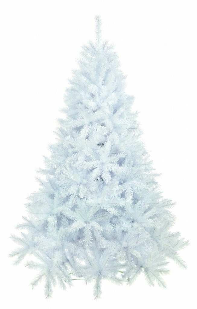 Parcel In The Attic 7ft White Spruce Artificial Christmas Tree