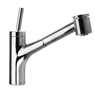 LaToscana Elba Touch Single Handle Kitchen Faucet with Side Spray