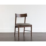 Shrestha Upholstered Parsons Chair in Gray by Brayden Studio®