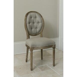 King Louis Side Chair by The Bella Collection New Design
