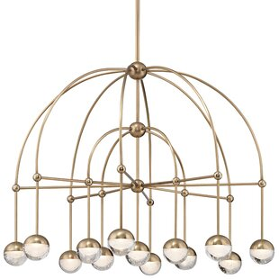 Mercer41 Raze 13-Light LED Shaded Chandelier