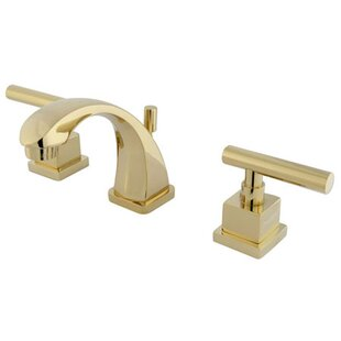Rio Mini-Widespread Bathroom Faucet with Pop-up by Elements of Design