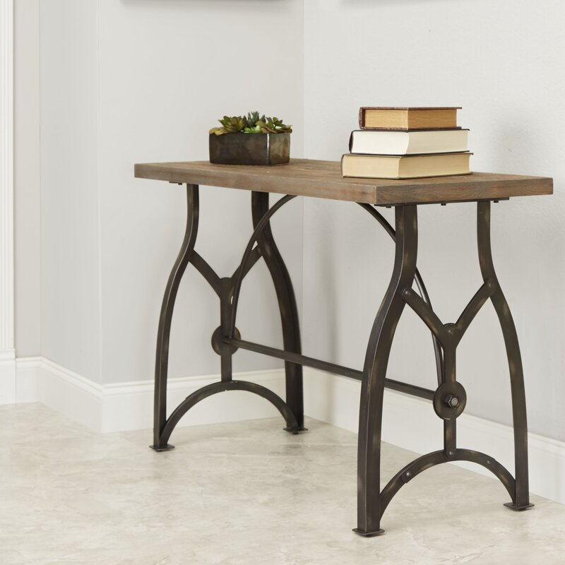 Wonderful Winona Industrial Console Table