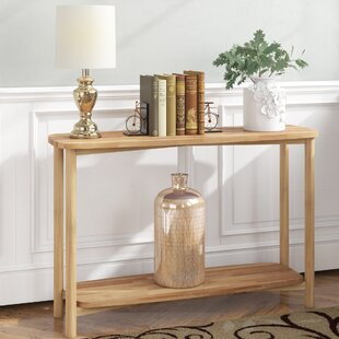 Jain Modern European 44 Solid Wood Console Table by Winston Porter