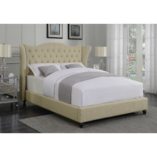 Phillip Upholstered Panel Bed by DarHome Co Spacial Price