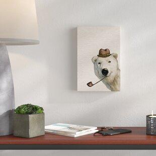 Cheap Price 'Smokey Bear' Canvas Art