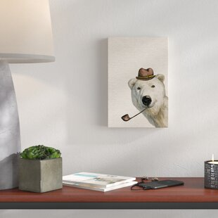 'Smokey Bear' Canvas Art By HoneyBee Nursery