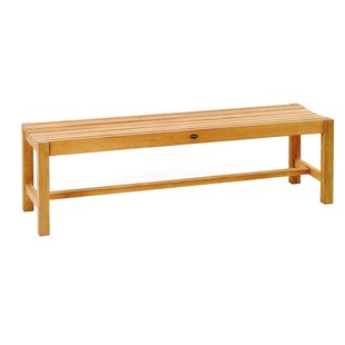 Teak Wood Picnic Bench by Les Jardins