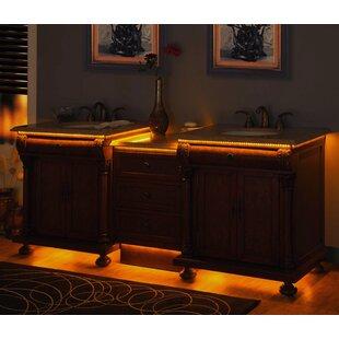 Emily 83 Double Bathroom Vanity Set