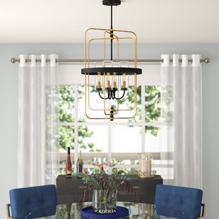 Willa Arlo Interiors Desaree 4-Light Foyer Pendant