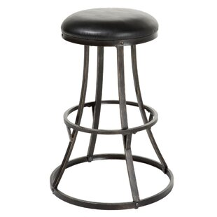 Joyce Swivel Bar Stool by 17 Stories