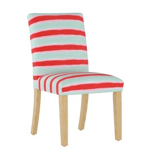 Temples Upholstered Dining Chair by Ebern Designs Modern