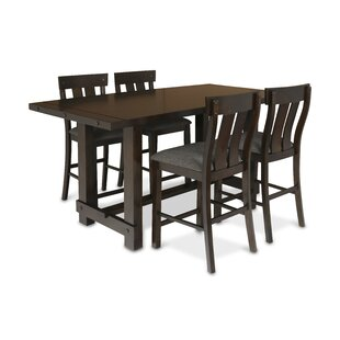 Frisco 5 Piece Counter Height Solid Wood Dining Set New Classic