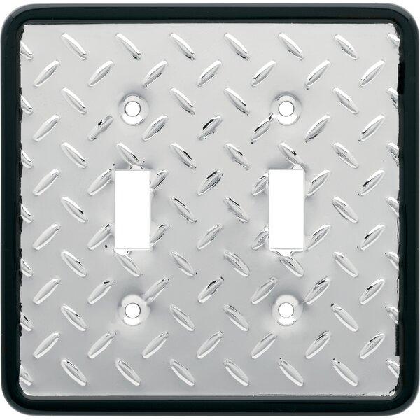 Franklin Brass Diamond Plate 2 Gang Toggle Light Switch Wall Plate Reviews Wayfair