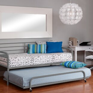 Latitude Run Salguero Metal Daybed With Trundle