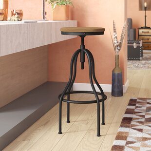 Great Price South Lake Tahoe Adjustable Height Swivel Bar Stool by Trent Austin Design Reviews (2019) & Buyer's Guide