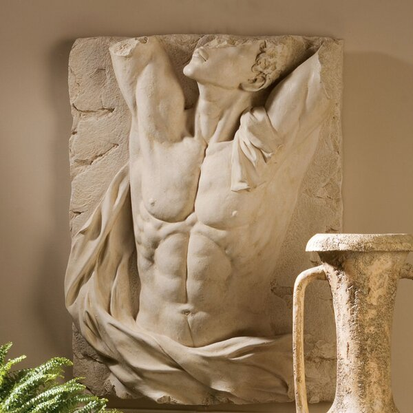 Design Toscano The Torso Of Adonis Bas Relief Wall D 233 Cor