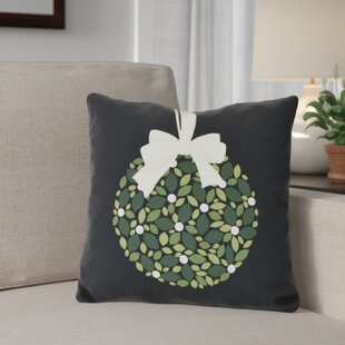 Mistletoe Me Throw Pillow