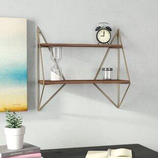 cb5075b801600 Foote Decorative Mid-Century Modern Wall Shelf