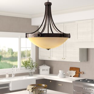 Laurel Foundry Modern Farmhouse Britt 4-Light Bowl Pendant