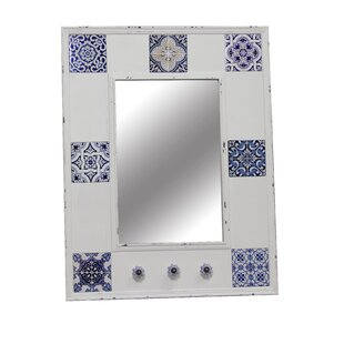 Jeco Inc. Antique Rectangle Wall Mirror