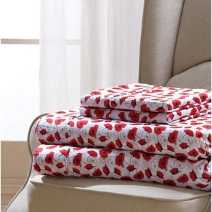 Coatsburg Poppy Sheet Set