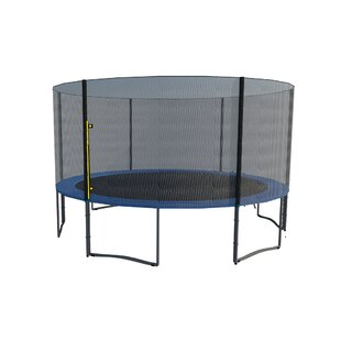 Newacme LLC 15' Round Trampoline with Safety Enclosure