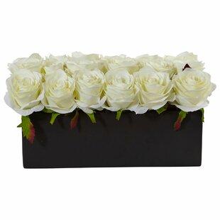 Rose flower arrangements youll love wayfair save mightylinksfo
