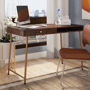 Guzzi Verse Solid Wood Writing Desk