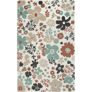 Searching for Country Hand-Tufted Wool White Area Rug By Rizzy Rugs